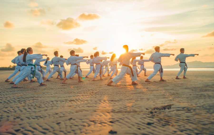Martial arts on a Working Holiday