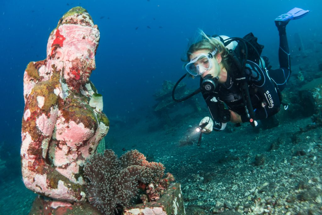 Scuba diving holidays Bali