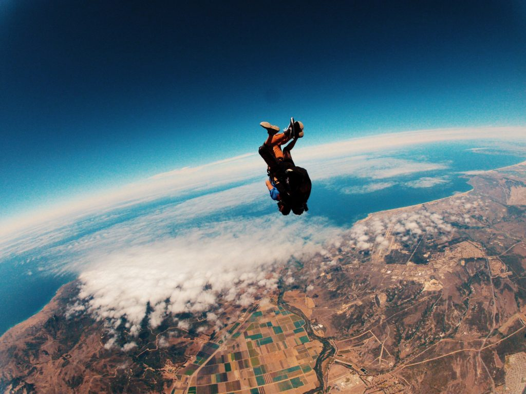 Skydiving in Portugal